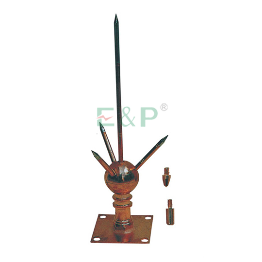 QPZ Imported Ball Type Lightning Rod,JDB Earth Rod Clamp